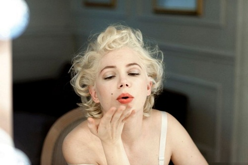 Michelle as Marilyn Monro