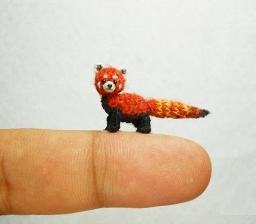 knitted mini animal