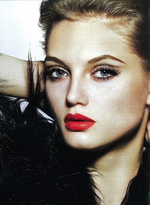 model Svetlana Zakharova, Russia