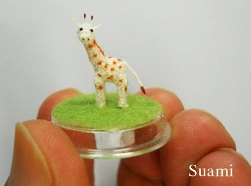 tiny giraffe