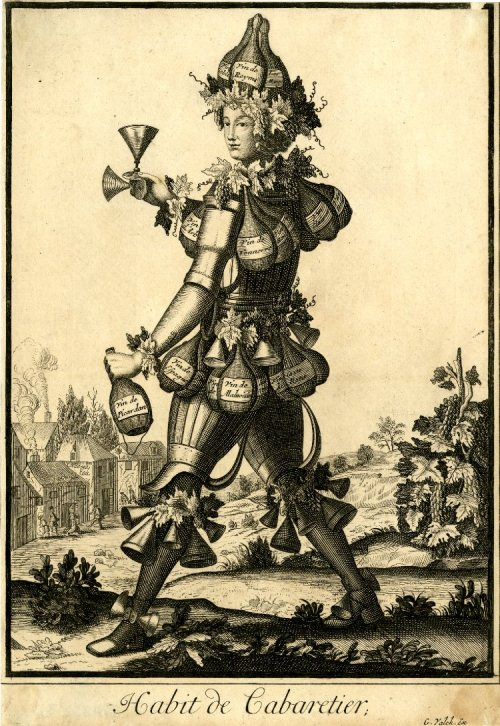 French seventeenth-century grotesque costumes