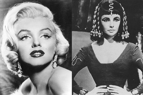 Marilyn Monroe, Elizabeth Taylor