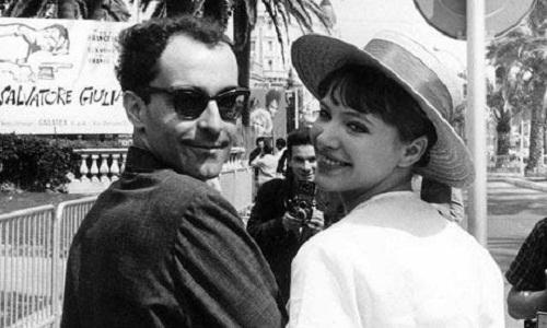 Jean-Luc Godard and Anna Karina