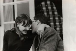Anna Karina and Godard