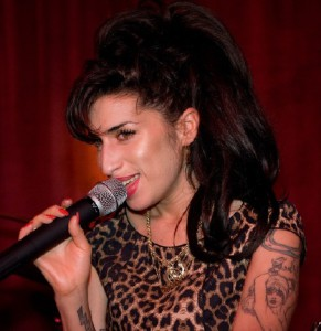 Amy Winehouse. Singer, songwriter. Died 2011, at age 27, of alcohol poisoning