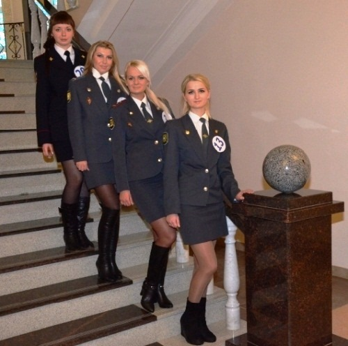 Beauty contest in the police department of the Smolensk region