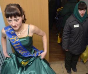 Beauty contest among prisoners