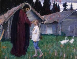 Christ Blessing the boy Bartholomew
