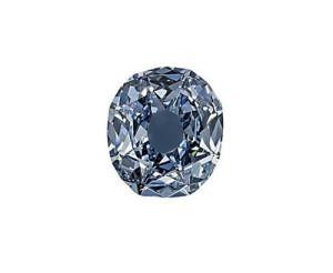 Diamond 'Blue Wittelsbach'