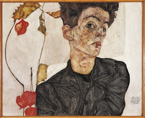 Egon Schiele. Painter. Died in 1918, at age 28, from the Spanish flu