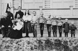 Family of merchant Polenov. 1910. Shot during the Red Terror in 1918