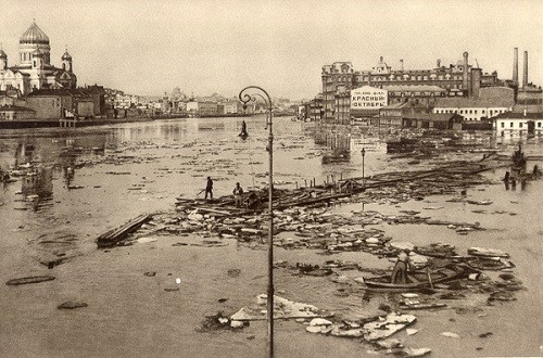 Flood in Moscow, 1927