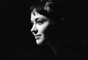 French actress of Danish origin Anna Karina