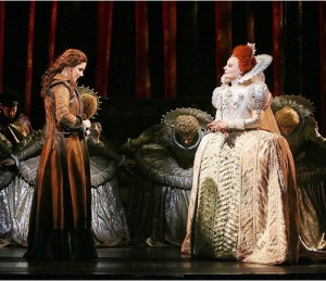 The meeting of Grace O'Malley and Queen Elizabeth I