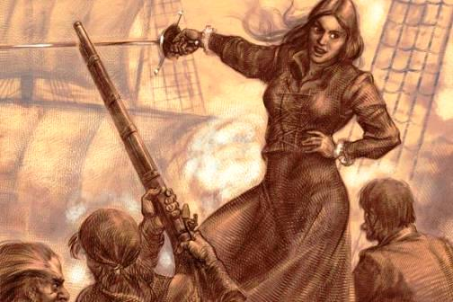 Queen of pirates Granuaile