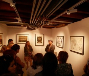 Guided tour of the exhibition strange parade Echirolles