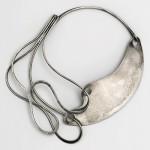 Half & Half Necklace, designed by 1948. Silver. Brooklyn Museum