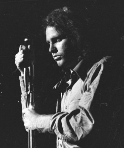 Jim Morrison. Singer, songwriter. Died in 1971, at age 27, possibly from heroin overdose