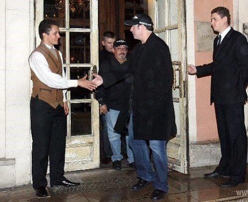 Aristocratic restaurant Cafe Pushkin