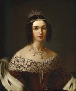Josephine Eugene Napoleonina Maximilian Leuchtenberg - wife of Oscar I, king of Sweden and Norway. Known as the Queen Josephine
