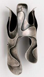 Lava-Bracelet 1946, silver, Brooklyn Museum