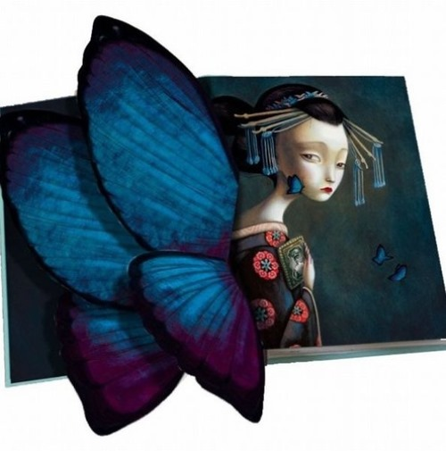 Madame Butterfly illustration by Benjamin Lacombe