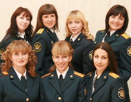 Miss FPS (Federal Penitentiary Service) in the Penza region