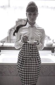 Olga Kurylenko Photographer Greg Williams, Vogue Italy, August 2008