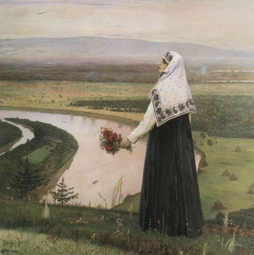 On the mountains. 1896