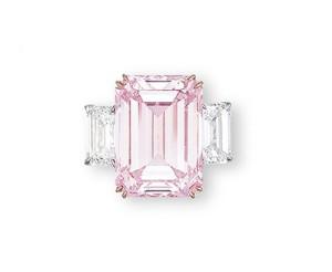Pink diamond 'Perfect Pink'