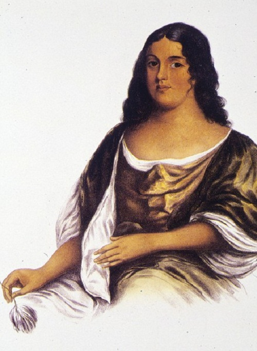 Pocahontas. Daughter of Chief Powhatan. Died in 1617, at age 21 or 22, unknown causes