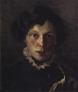 Portrait of M.I. Nesterova, the first wife of the artist