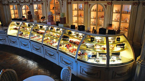 Restaurant Confectionery of Cafe Pushkin in Moscow