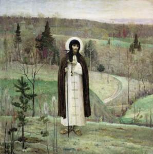 Saint Sergius of Radonezh. 1891-1899