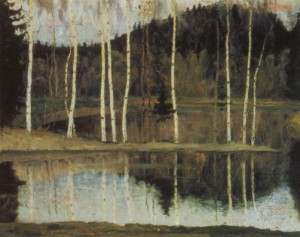 The beginning of spring (early spring). 1905