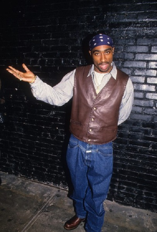 Tupac Shakur. Rapper, actor. Died in 1996, at age 25, in drive-by shooting