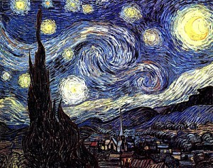 Vincent Van Gogh 'Starry Night, 1889