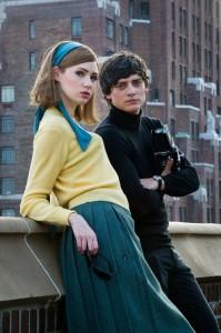 We'll Take Manhattan, Jean Shrimpton played by Karen Gillan and David Bailey played by Aneurin Ba