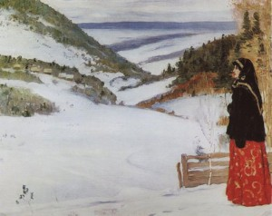 Winter in the convent, 1904
