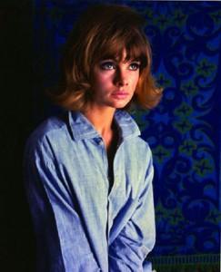 Jean Shrimpton by Ronald Falloon