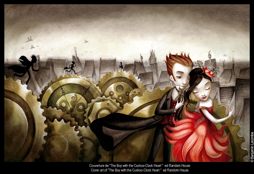 Talented and handsome Benjamin Lacombe