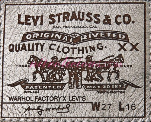 Levi Strauss jeans 140 years of history