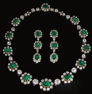 jewels coming from the collection of a member of the Princely Family of Thurn und Taxis