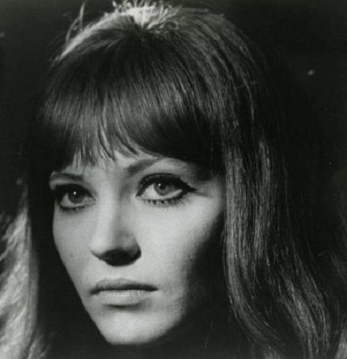 Anna Karina - French film actress, director, and screenwriter