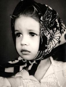 Olga in her childhood