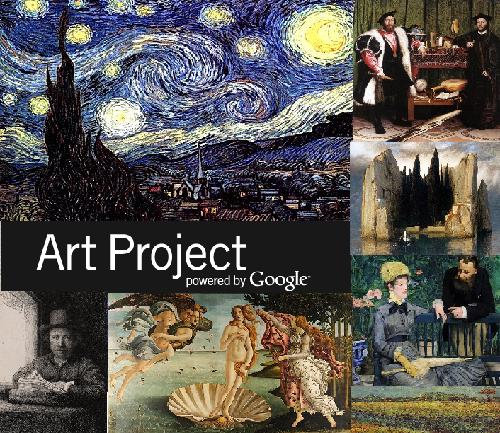 Google Art top 10 popular paintings