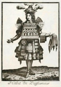 Parfumer. French seventeenth-century grotesque costumes