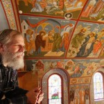Orthodox church painted by Priest Theodore Jurewicz