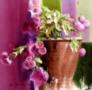 Beautiful paintings by Korean artist watercolorist Jong Sik Shin