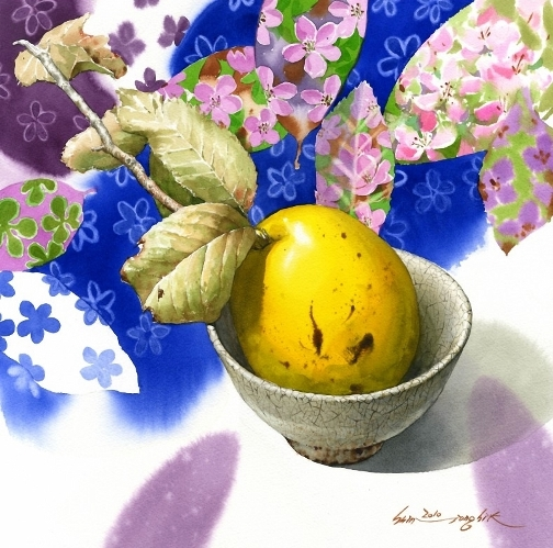 Beautiful paintings by Korean artist watercolorist Jong Sik Shin